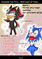 sonadow fanfics: the truth