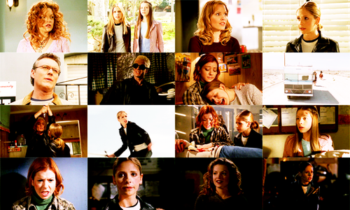 Buffy the Vampire Slayer wallpaper entitled Spiral