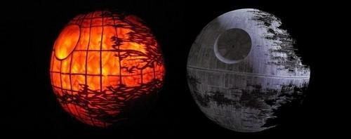 estrela wars pumpkins