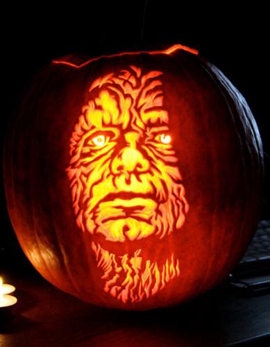 ster wars pumpkins