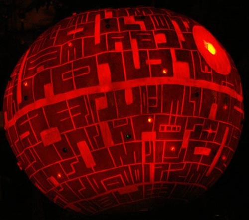 stella, star wars pumpkins