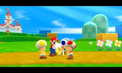 Super Mario 3D Land imagery
