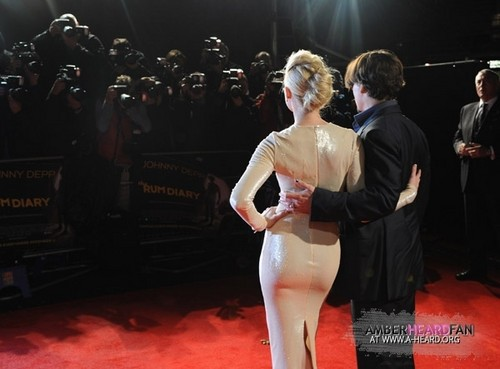THE rum DIARY Londres PREMIERE