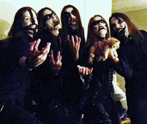 The Agonist's 'Black Metal' Halloween Costume for Hellaween Fest (Oct 29, 2011)