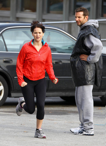 The Silver Linings Playbook - On set (November 3, 2011)