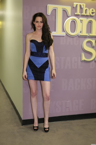 Kristen Stewart wallpaper containing a leotard and tights titled The Tonight Show with Jay Leno - November 3rd, 2011.