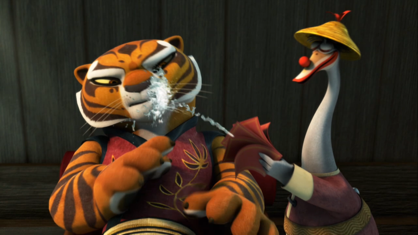 Precisely Kung-fu panda tigress porn