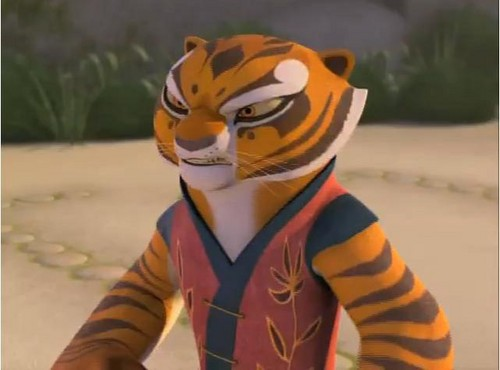 あばずれ女, 虎, ティグレス angry