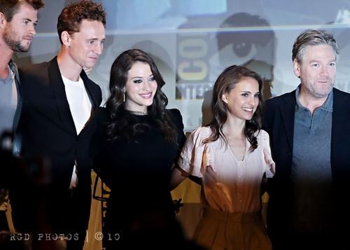 Tom Hiddleston at San Diego Comic-Con 2010