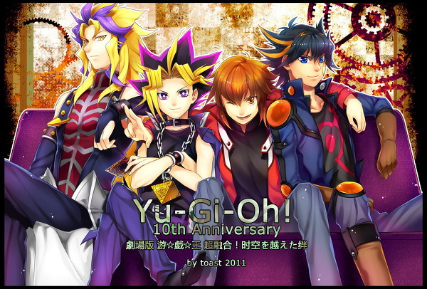 Yu-Gi-Oh 10th aniversary