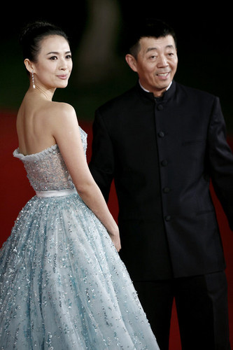 Zhang Ziyi and director Gu Changwei