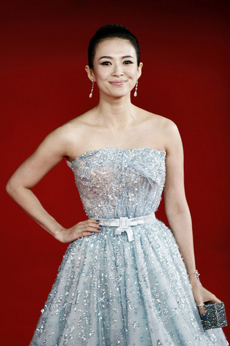 """Zhang Ziyi attend the """"Love For Life"""" movie premiere"""