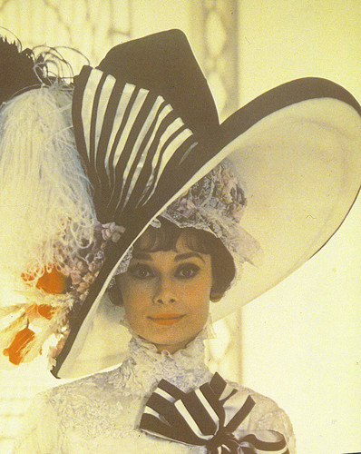 Classic Movies wallpaper probably with a boater, a sombrero, and a fedora titled audrey hepburn