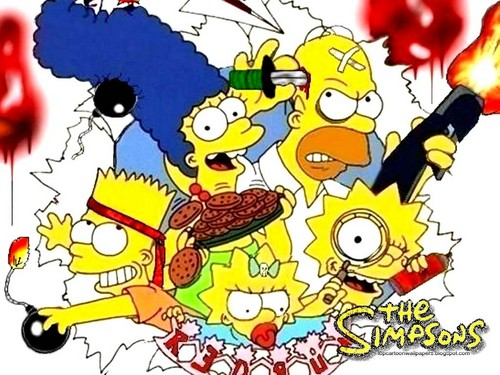 bart and homer simpson - the-simpsons Fan Art