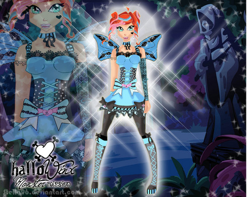 bloom happy hallo winx happy hallowenn