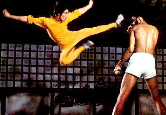 Lee Flying Flying Kick Bruce-lee