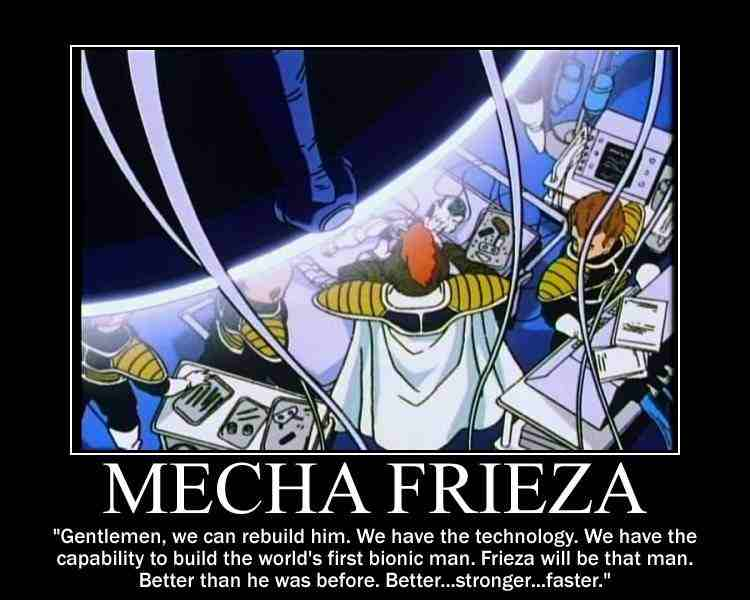 Frieza Funny Mecha