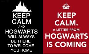 keep calm hogwarts is there