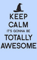 keep calm it gonna be totally awesome - a-very-potter-musical photo