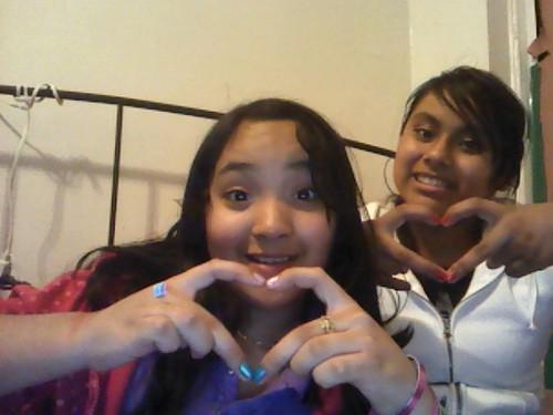 me and jenny we amor u