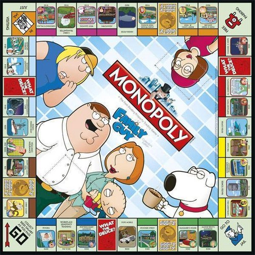 monoply family guy