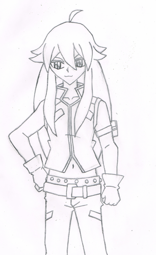 Beyblade Metal Fusion kertas dinding called my drawing of tsubasa