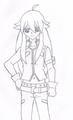 my drawing of tsubasa