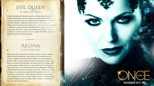 Evil Queen - once-upon-a-time Wallpaper
