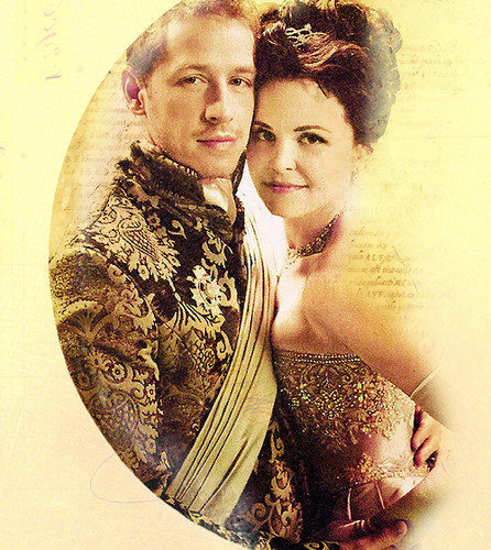 Once Upon A Time wallpaper titled Prince Charming & Snow White