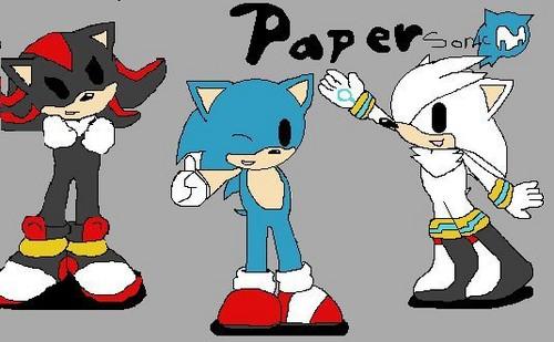 paper sonic