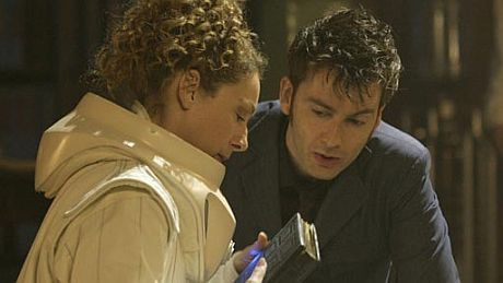 river song and the 10th doctor