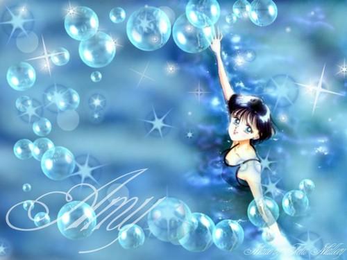 Bakugan and Sailor Moon! Hintergrund entitled sailor mercury