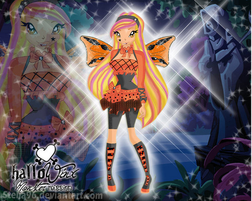 stella happy hallo winx happy hallowenn