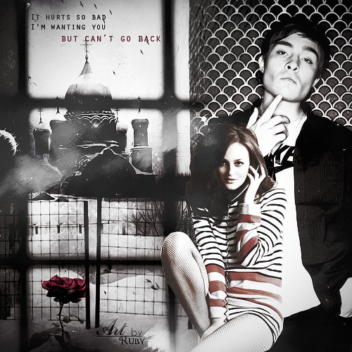 Blair & Chuck karatasi la kupamba ukuta containing a chainlink fence and a mitaani, mtaa called ♥ CHUCK♥BLAIR♥