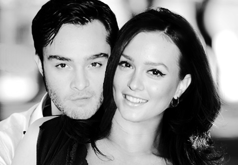 Blair & Chuck wallpaper containing a portrait called ♥ CHUCK♥BLAIR♥
