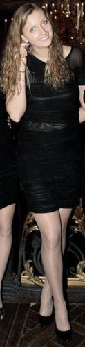 Kvitova transparent dress