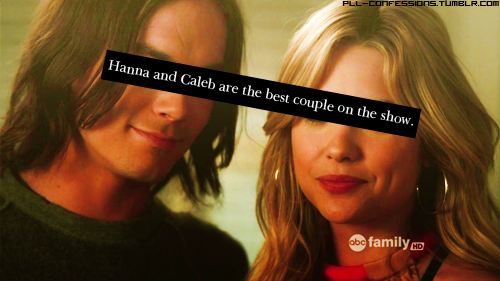 Hanna & Caleb پیپر وال containing a portrait titled ►hanna/caleb;