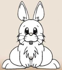 Random achtergrond entitled A Beautiful Symmetrical Rabbit