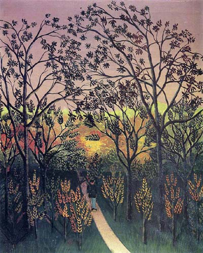 A Corner of the Plateau of Bellevue - Henri Rousseau