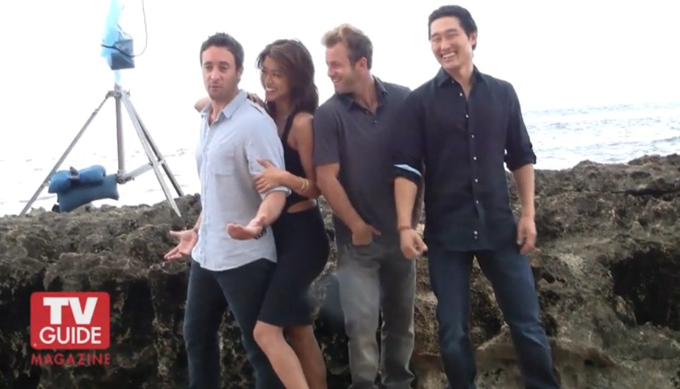 Hawaii Five-O Kono and Steve