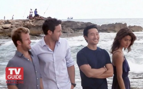 Steve and Kono Hintergrund possibly with an direkt am meer entitled Alex & Grace - Hawaii Five-0