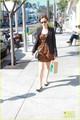Alexis Bledel: Starbucks Stop in Beverly Hills