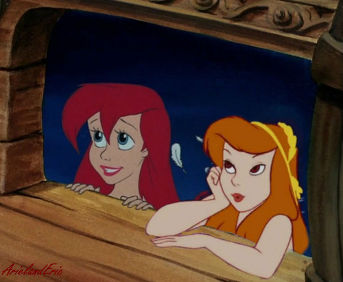 Ariel and Friend