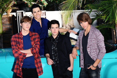 BTR With a Cool Car