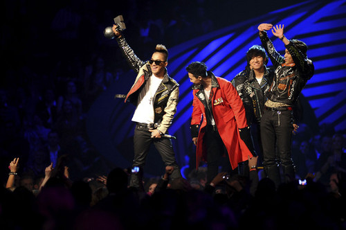 Big Bang @ MTV Europe muziek Awards