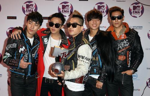 Big Bang @ MTV Europa Music Awards