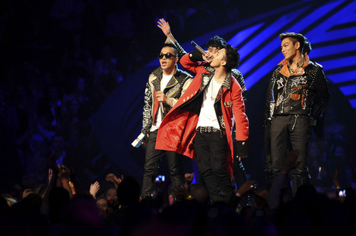 Big Bang @ MTV Europe musique Awards