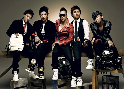 Big Bang Korean Band Members