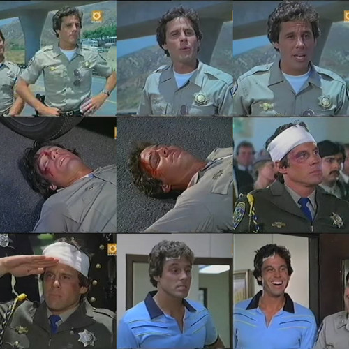 Brodie Greer as Barry ours Baricza in CHiPs Death Watch