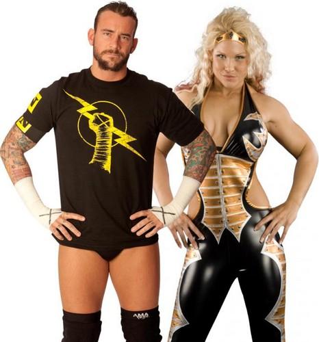 CM Punk and Beth Phoenix